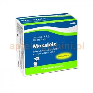 MEDA Moxalole, proszek do sporządzania roztworu doustnego, 20 saszetek