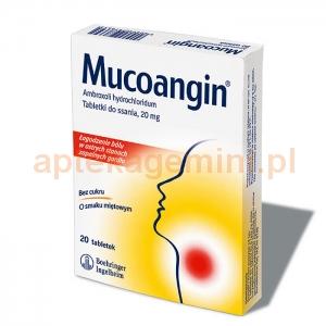 BOEHRINGER INGELHEIM Mucoangin, 20 tabletek do ssania