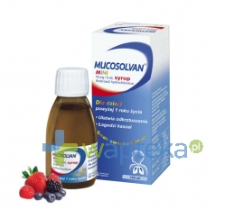 BOEHRINGEN INGELHEIM MARKETING SP. Z O.O. Mucosolvan mini 0,015 g/5ml syrop 100 ml