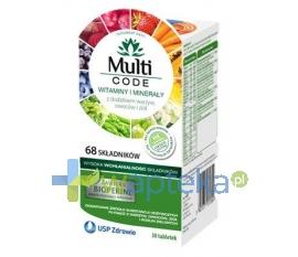 USP ZDROWIE SP. Z O.O Multi CODE Dorośli 30 tabletek