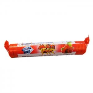 PNN PHARMACEUTICALS Multifan, dropsy, smak malinowy, bez cukru, 17 sztuk