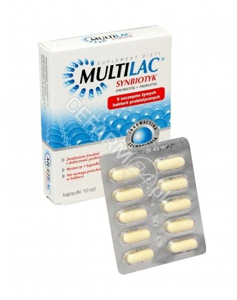 GENEXO Multilac x 10 kaps