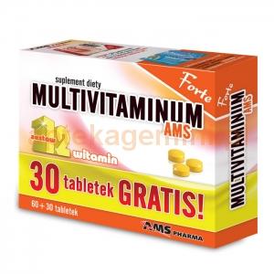 AMS PHARMA Multivitaminum AMS Forte, 90 tabletek