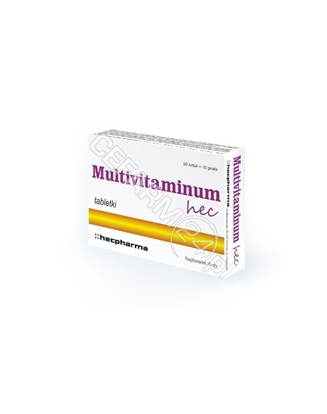HECPHARMA Multivitaminum HEC x 50 tabl