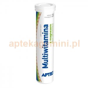 SYNOPTIS PHARMA Multiwitamina z magnezem, Apteo, 20 tabletek musujących