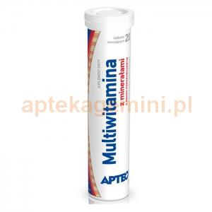 SYNOPTIS PHARMA Multiwitamina z minerałami, Apteo, 20 tabletek musujących