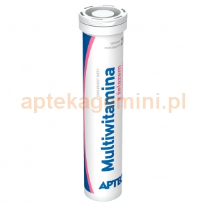 SYNOPTIS PHARMA Multiwitamina z żelazem, Apteo, 20 tabletek musujących