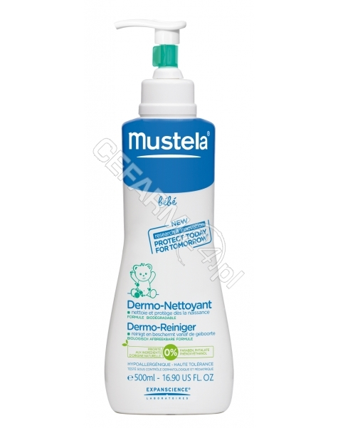 EXPANSCIENCE Mustela Bébé Żel do mycia 500ml