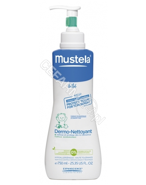 LABORATOIRES EXPANSCIENCE Mustela Bébé Żel do mycia 750ml