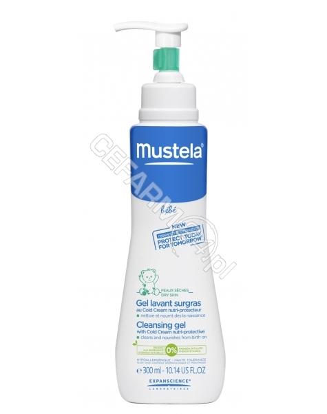 EXPANSCIENCE Mustela bebe żel do mycia z cold cream 300 ml