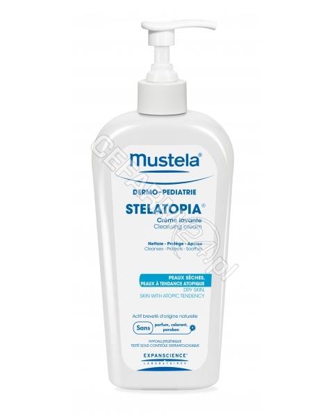 EXPANSCIENCE Mustela stelatopia krem myjący dla niemowląt 400 ml