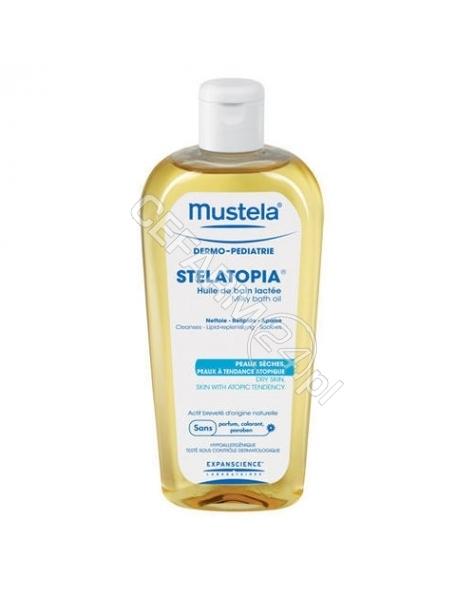 EXPANSCIENCE Mustela stelatopia olejek mleczny do kąpieli 200 ml