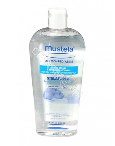 EXPANSCIENCE Mustela stelatopia woda miceralna do oczyszczania 400 ml