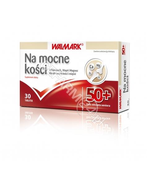 WALMARK Na mocne kości 50+ x 30 tabl powlekanych (Walmark)
