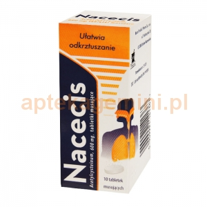 NATUR PRODUKT Nacecis 600mg, 10 tabletek musujących
