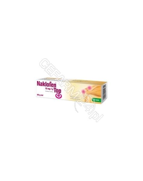 KRKA Naklofen top 10 mg/g żel 60 g