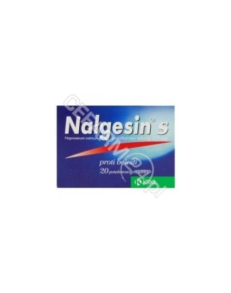 KRKA Nalgesin mini 220 mg x 10 tabl powlekanych