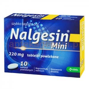 KRKA Nalgesin Mini 220mg, 10 tabletek