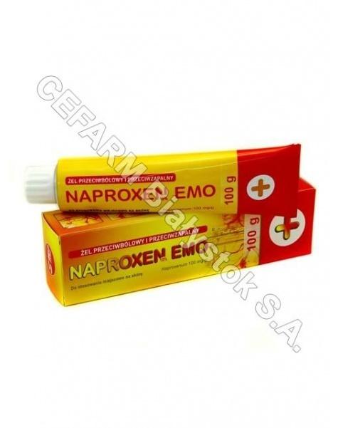 EMO-FARM Naproxen 10% żel 100 g emo