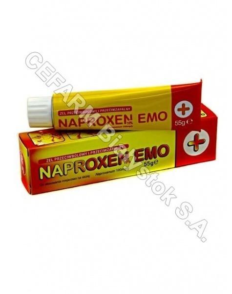 EMO-FARM Naproxen 10% żel 55 g emo