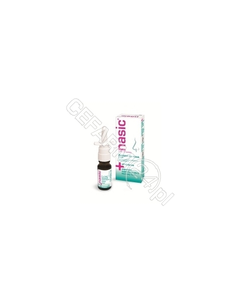 CASSELLA-MED Nasic aerozol do nosa 10 ml