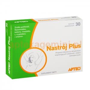 SYNOPTIS PHARMA SP. Z O.O. Nastrój Plus APTEO 30 tabletek
