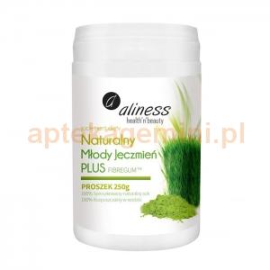 MEDICALINE Naturalny młody jęczmień Plus, ALINESS, 250g