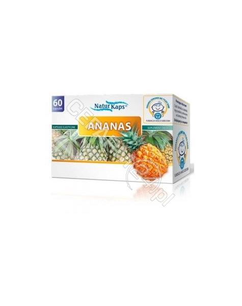 HASCO-LEK Naturkaps Ananas x 60 kaps