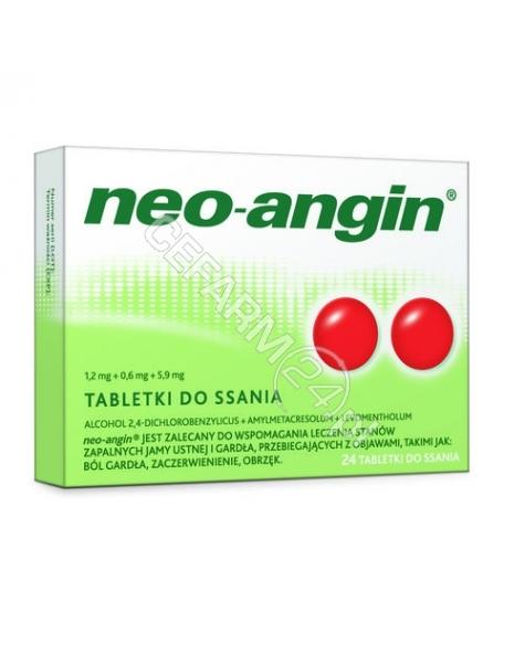 SANOFI Neo-angin z cukrem x 24 tabl do ssania