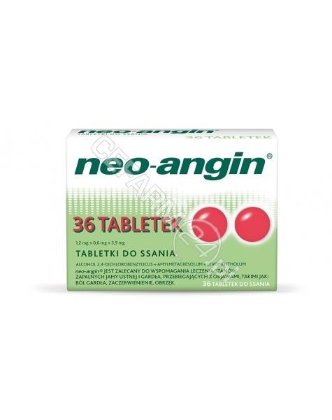 SANOFI Neo-angin z cukrem x 36 tabl do ssania
