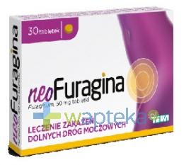 TEVA KUTNO S.A. NeoFuragina 30 tabletek