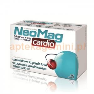 Aflofarm NeoMag Cardio, 50 tabletek
