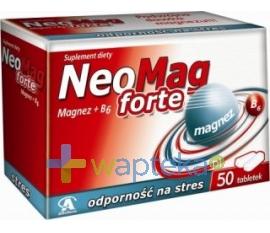AFLOFARM FABRYKA LEKÓW SP.Z O.O. Neomag Forte (MgB6 Forte) 50 tabletek