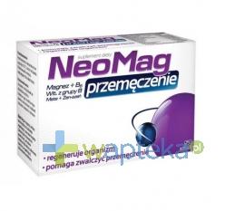 Aflofarm Neomag Przemęczenie, 50 tabletek
