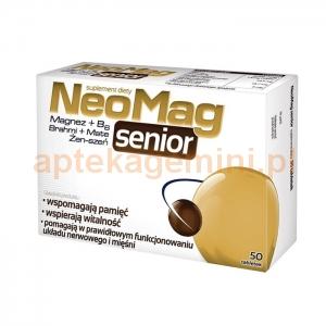 Aflofarm Neomag Senior, 50 tabletek