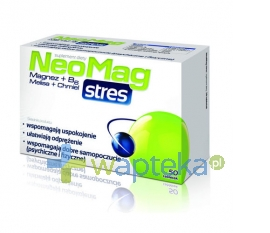 AFLOFARM FABRYKA LEKÓW SP.Z O.O. Neomag Stres 50 tabletek