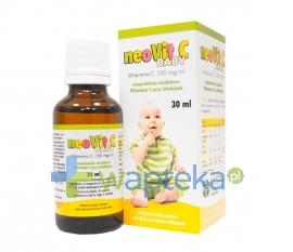 FARMACEUTYCZNA SPÓŁDZIELNIA PRACY FILOFARM NeoVit C BABY krople 100 mg/ml 30 ml
