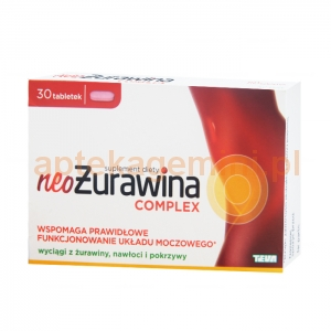 TEVA NeoŻurawina Complex, 30 tabletek