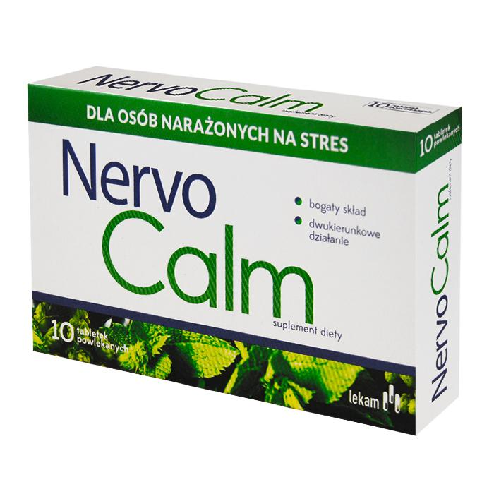 LEK-AM NervoCalm, 10 tabletek