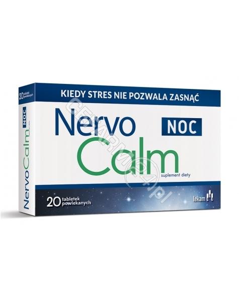 LEK-AM Nervocalm noc x 20 tabl powlekanych