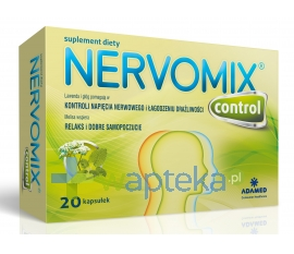 ADAMED CONSUMER HEALTHCARE S.A. Nervomix Control 20 kapsułek