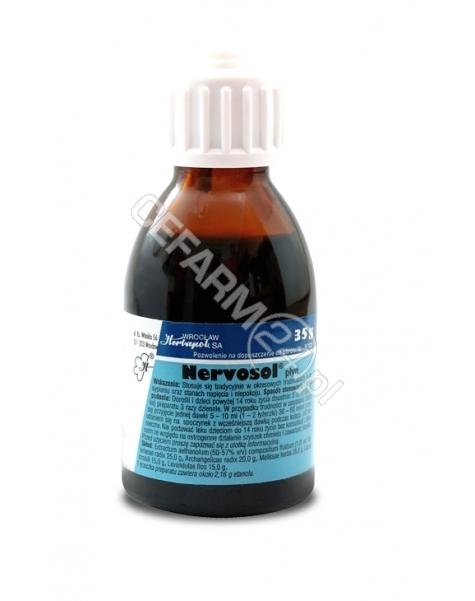 HERBAPOL WRO Nervosol krople 35 g