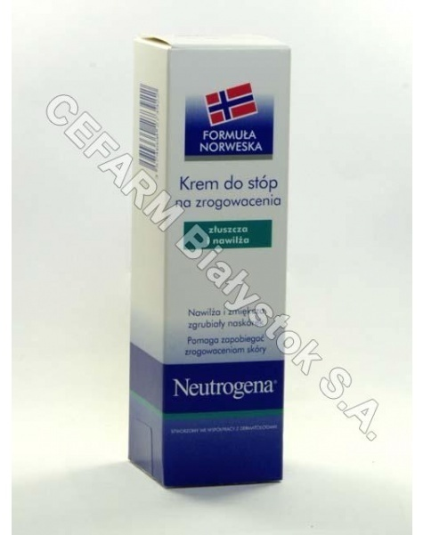 NEUTROGENA Neutrogena formuła norweska - krem do stóp na zrogowacenia 50 ml
