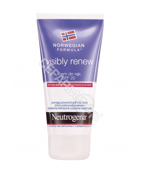 NEUTROGENA Neutrogena formuła norweska Visibly Renew - krem do rąk 75 ml