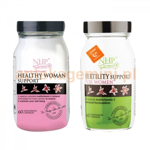 NATURAL HEALTH PRACTICE NHP, Healthy Woman Support, 60 kapsułek+ NHP FERTILITY SUPPORT FOR WOMEN 60 KAPSUŁEK GRATIS