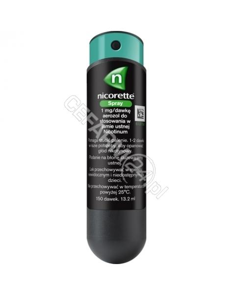 MCNEIL Nicorette spray 1mg/dawkę x 1 dozownik (150 dawek)