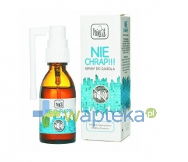FARM.PRZED.PROD.-ANALIT.-HANDL. Nie Chrap spray 30 ml