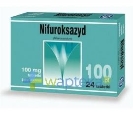 Zentiva Nifuroksazyd 100mg 24 tabletki powlekane HASCO