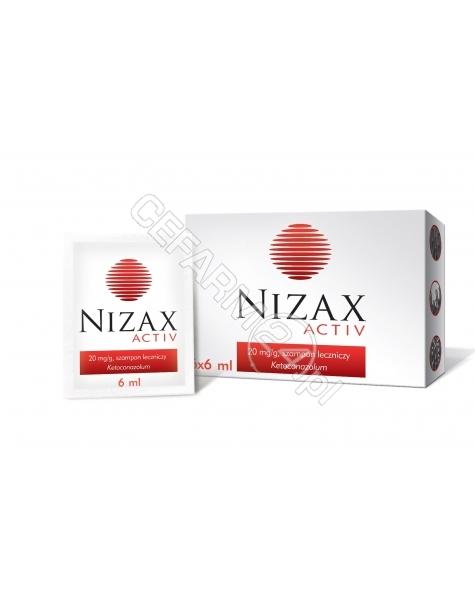 HASCO-LEK Nizax activ 20 mg/g 6 ml x 6 sasz