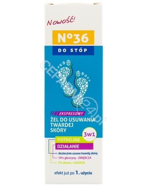 PharmaCFood No 36 ekspresowy żel do usuwania twardej skóry stóp 3w1 75 ml